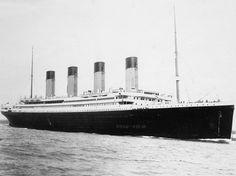 """Fotografia del """"Titanic"""", en el centenari del seu enfonsament."""
