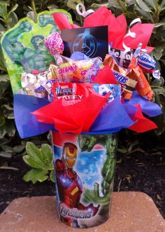 The Avengers Kids Candy Party Favors Made by LynnsCandyCreations, $0.20