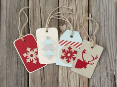 DIY Christmas Tags using Cricut Explore!  Photographer: Heather Price