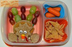 Super cute turkey lunch! Gobble Gobble