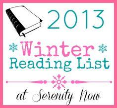 read read, book nerdi, 2013 winter, list review, reading lists, winter read, read list