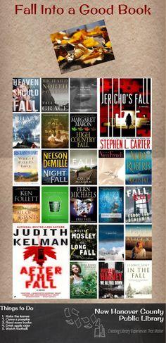 Fall Into a Good Book infographic #readersadvisory #goodreads