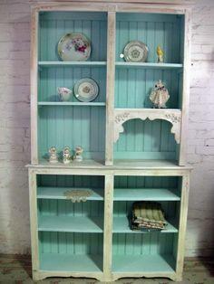 shabby chic book shelves