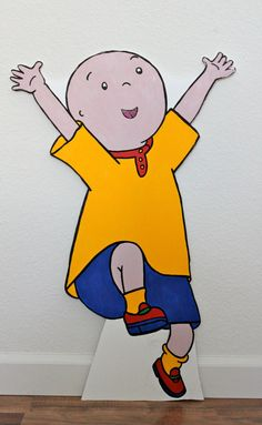 "20"" x 30"" (2.5 feet) Caillou Birthday - Caillou Decoration - Caillou Prop - Yard Display - Wall Decor - Complete Caillou Party"