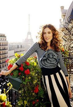 Carrie Bradshaw in Paris