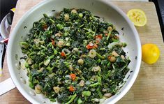 Another take on cooking Jamaican callaloo. this time we'll be using shrimp instead of the typical salted fish. Click for the recipe and video tutorial.