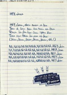 Wise Up English School: Lyrics, Nanana Redaçao e Direçao de Arte uma boa harmonia!