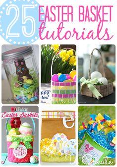 25 Remarkable Easter Basket Tutorials