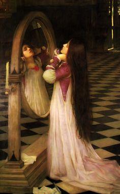 Mariana in the South, 1897, John William Waterhouse. #classic #art #painting