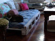 sofá palete pallets sofá, casa, hous idea, de decoração, pallet diy, les palett, palletsofa, palett boi, diy pallet sofa