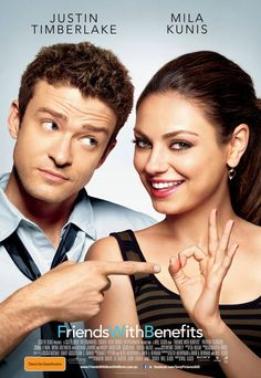 37. FRIENDS WITH BENEFITS - Despite terrible reviews and a slapstick beginning where she hops onto a baggage carousel, hubby and I thoroughly enjoyed it. Quirky enough and fun complete with a crazy mother.
