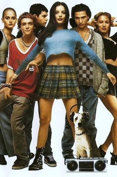 Stylish film-inspired Halloween costume idea: Liv Tyler from Empire Records #90s #style #fashion #plaidskirt #boots