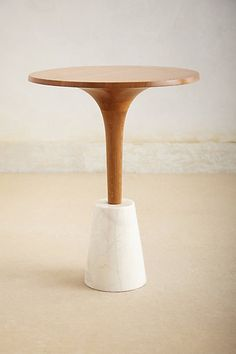 I'm not a fan of table legs as while they do hold up a table, they are also always in the way - but take a look at this beautiful, sleek and sculptural table.