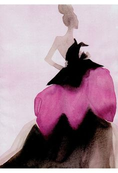 Illustration by Mats Gustafson for Vogue.