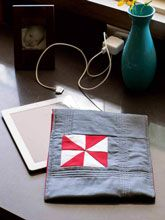 how to make an iPad or Tablet Cover