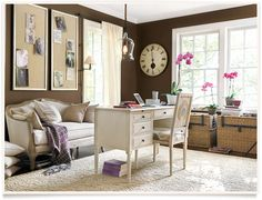 Ballard Designs  |    Dianna Home Office