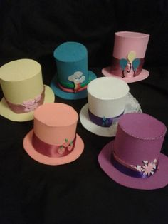 MLP My Little Pony Mini Top Hats Mane 6