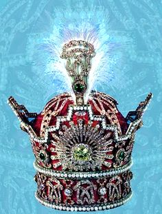 The Pahlavi Crown is part of the coronation regalia used by the Pahlavi Shahanshahs of Iran (Persia) and is part of the Iranian Crown Jewels.