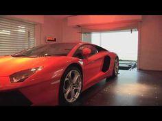 Millionaire Parking Lamborghini Aventador In His Living Room!