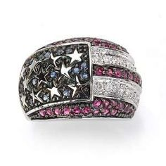 American flag #ring love it!!