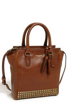 Studded crossbody bag. i'm in love!