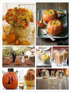 Fall Weddings - Pumpkins