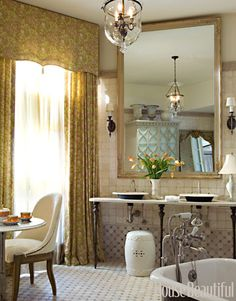 Elegant Master Bath by Barry Dixon