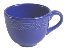 HF Coors Cornflower Blue Aztec mug, holds 14 ounces. #madeinUSA #chipresistant #microwavesafe #dishwashersafe #leadfree