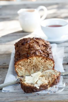 Peanut Butter Swirl Banana Bread. All I read was peanut butter. Game on. YUM.