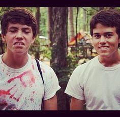 Cole and John Luke. I LOVE JOHN LUKE AHH