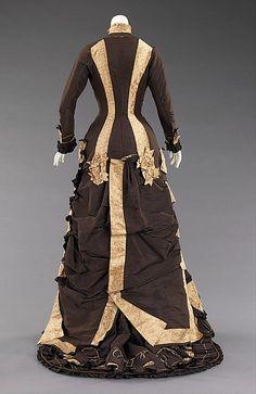 Vestido de casamento (3) - 1879  - MET