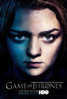 Game of Thrones (TV Series 2011– ): Great fantasy series about the various family clans in Westeros and their lust for power. Arya and Tyrion are my favourite characters.