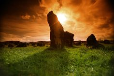 Beaghmore Stone Circles, near Cookstown, County Tyrone, Northern Ireland