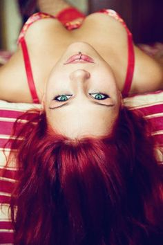 #Sexy red head