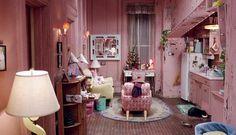 kyle apart, dream apartment, dreams, catwoman, pink houses
