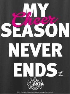 This is so true #cheer #cheerleading #neverending