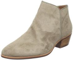 Sam Edelman Women's Petty Ankle Boot.  $130.00 - $160.00            Sam Edelman shoes epitomize chic comfort. With exceptional materials and fine styling, each pair of Sam Edelman shoes is an affordable luxury that cleverly combines a youthful outlook with a worldly sensibility. Sophistication with down-to-earth appeal mean that these shoe...