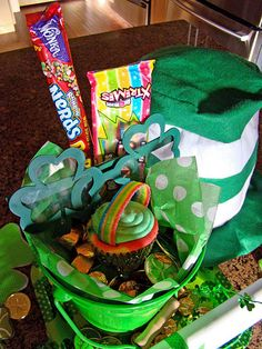 Really cute ideas for celebrating St. Pattys Day!
