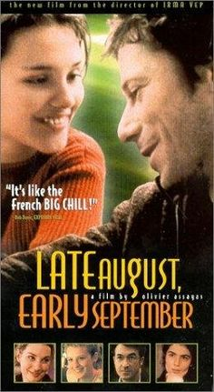 """""""Late August, Early September"""" - one of my absolute favorite films.  I love this story about contemporary 30-something Parisians.  It's universally relatable.  The filmmaking style is so authentic & captivating."""