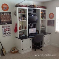 Makeover:  Kids' room for three boys. On a budget.