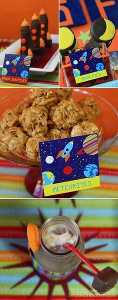 Shuttles, moon pies, meteorites, and milky way shakes