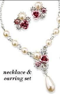 Melissia Necklace and Earring Gift Set - Avon