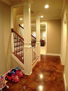 Acid Stain Concrete Floor Design