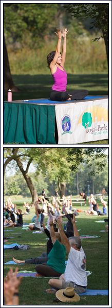 Yoga in Parks Sessions