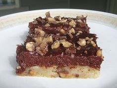 chocolate cream cheese toffee bars Miranda's Recipes: Brownies and Bars