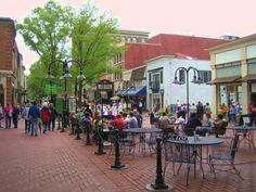 Very cool and thriving downtown area--Really want to go back--hopefully soon.  Worked at Dolly Madison Hosp.