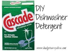 DIY Dishwasher Detergent | Budget Savvy Diva
