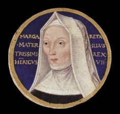 Margaret Beaufort, Mother of King Henry VII, Grandmother of Henry VIII