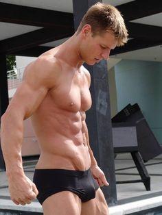 Underwear Fixation! . For more men's brief swimwear at great prices check www.swimkinis.com #mens swimwear #speedos #mens togs