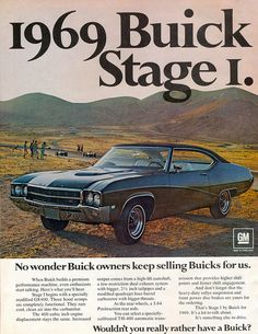 1969 Buick GS 400 Stage I